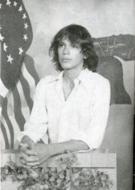 American rapist and serial killer Richard Ramirez, in high school